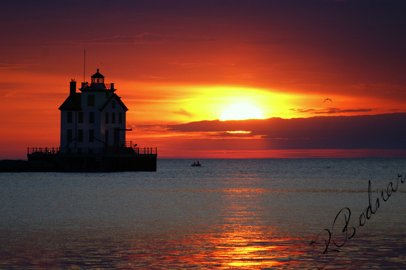 Photo By Robert Bodnar..................................Lorain Harbor
