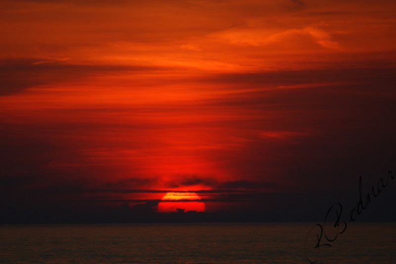 Photo By Robert Bodnar..........................................Sun going down