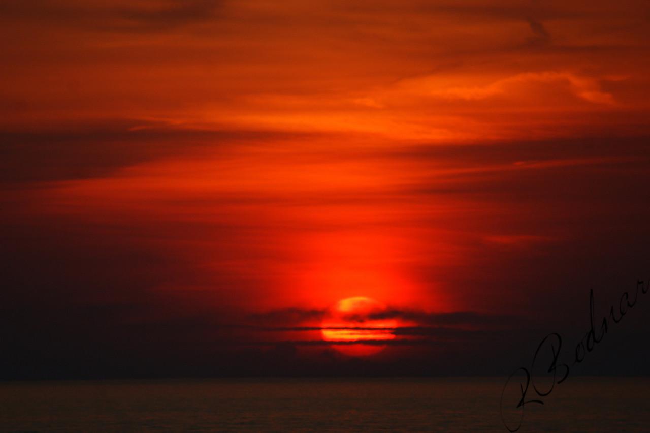 Photo By Robert Bodnar...............................................Sunset