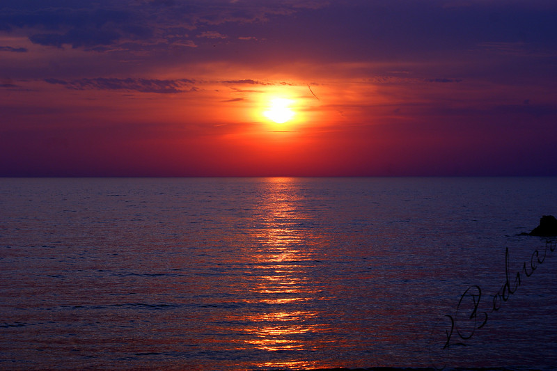 Photo By Robert Bodnar..............................Lake Erie Sunset