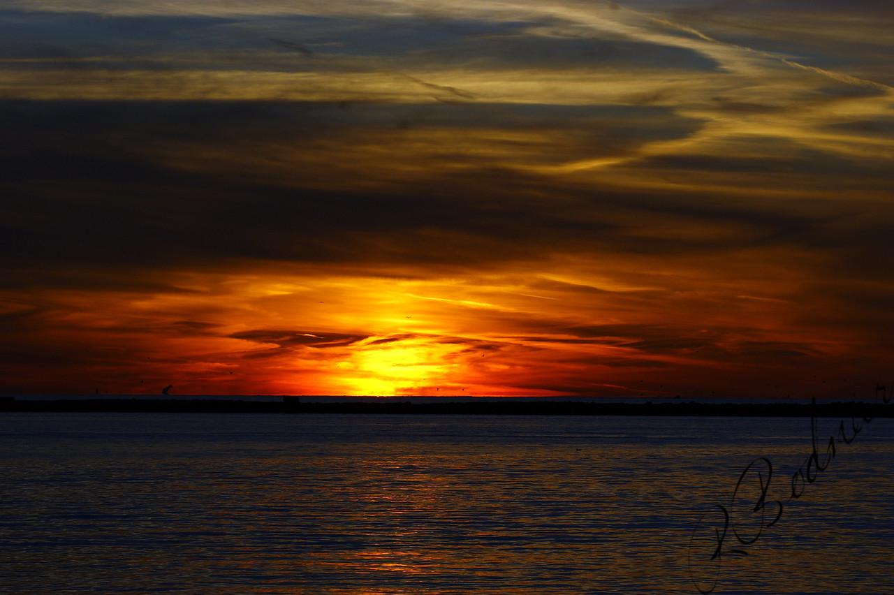 Photo By Robert Bodnar.........................................A Fall Sunset