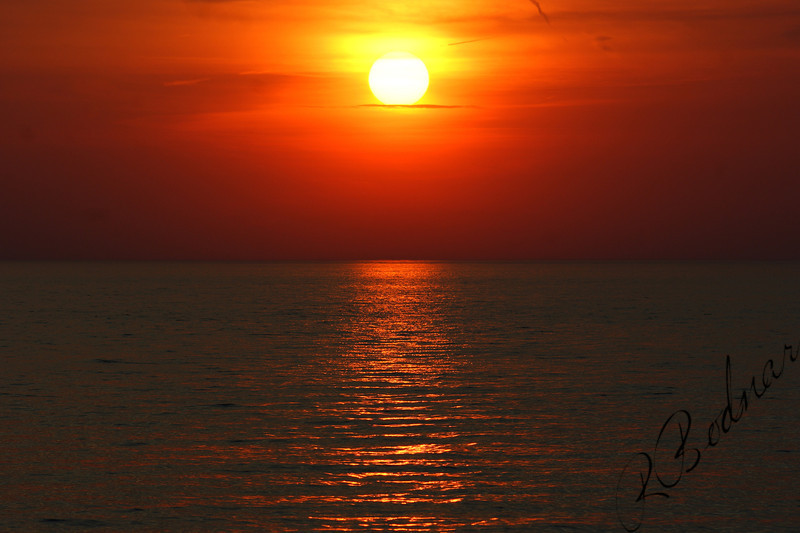 Photo By Robert Bodnar........................................Sunset on Lorain Harbor