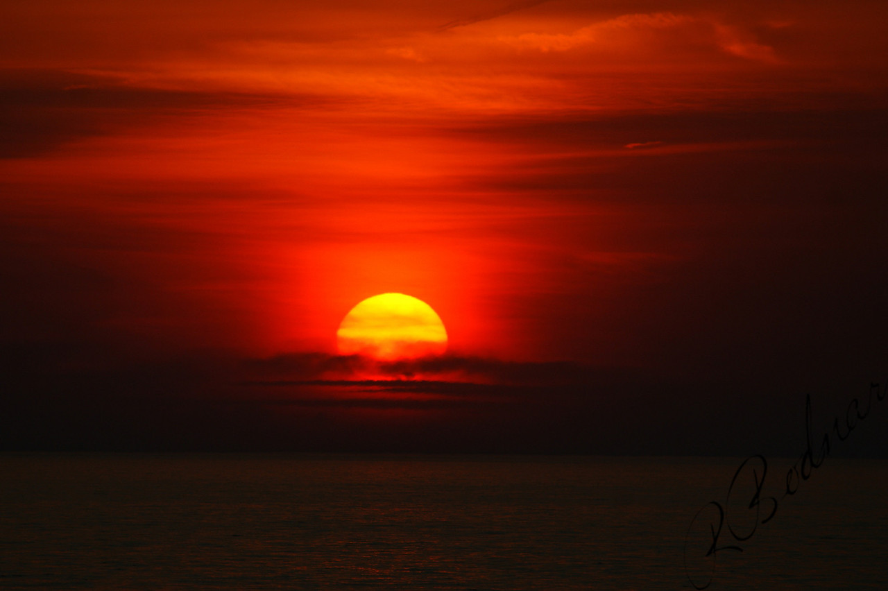 Photo By Robert Bodnar...............................Big sunset