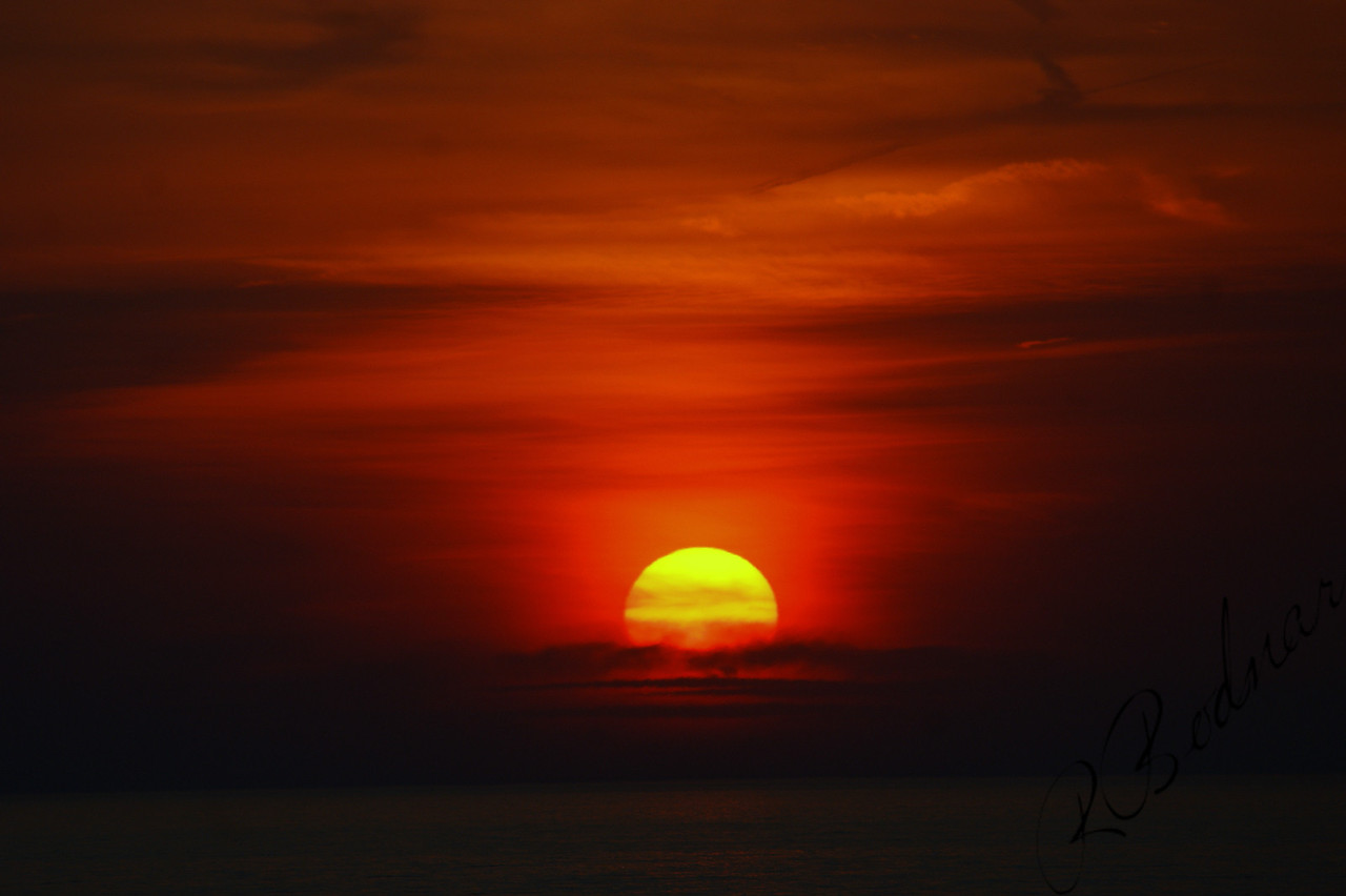 Photo By Robert Bodnar...........................................An April Sunset on Lake Erie