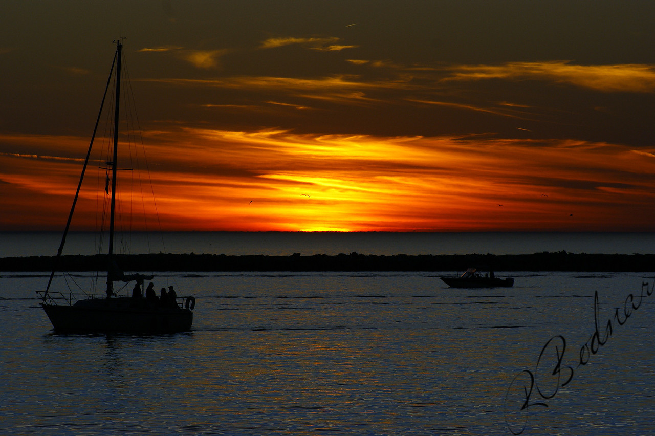 Photo By Robert Bodnar...........A Quiet Sunset on Lake Erie