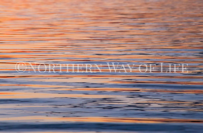Water reflections on Lake Leelanau: Leelanau peninsula, Michigan
