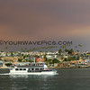 2018-08-09_Newport Harbor_Holy Fire smoke_Wedge_4.JPG<br /> Smoke from a raging fire in Holy Jim Canyon brought color to the skies all over Orange County