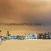 2018-08-09_18th St._Holy Fire smoke_2.JPG<br /> Smoke from a raging fire in Holy Jim Canyon brought color to the skies all over Orange County