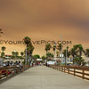 2018-08-09_Balboa Pier_Holy Fire smoke_4.JPG<br /> Smoke from a raging fire in Holy Jim Canyon brought color to the skies all over Orange County