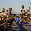 2019-02-06_Balboa_Pier Snow_3.JPG<br /> <br /> A rare day with snow-covered mountains behind Newport's Balboa Pier