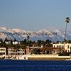 2019-02-06_Balboa_Buena Vista Snow_9.JPG<br /> <br /> A rare day with snow-covered mountains behind Newport Harbor, viewed from Buena Vista Dr.
