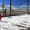 2015-03-02_9532_HB Pier Northside.JPG<br /> <br /> 6th St. parking lot in Huntington Beach - the place for snowball fights 3/2/15