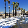 2015-03-02_9567_Beach Bl.JPG<br /> <br /> Several hours after the hailstorm hit Huntington Beach, the 'snow' still filled the parking lot at Beach Bl. 3/2/15