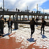 2015-03-02_9536_HB Pier Northside.JPG<br /> <br /> Snowball fighting at the Huntington Beach pier 3/2/15