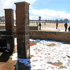 2015-03-02_9533_HB Pier Northside.JPG<br /> <br /> Hail blankets the ground at the Huntington Beach pier 3/2/15