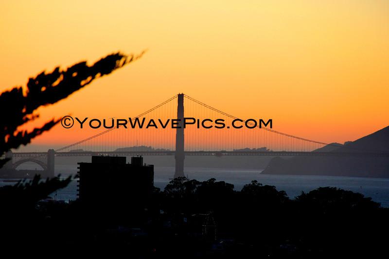 09-19-13_Coit Tower sunset_8984.JPG  San Francisco