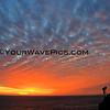 Crescent Bay blanket of color