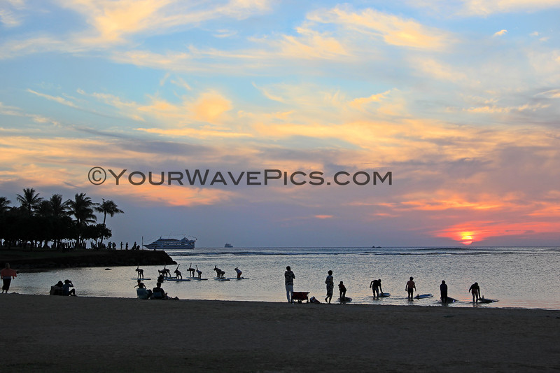 2017-01-10_Magic Island Sunset_Waikiki_1.JPG