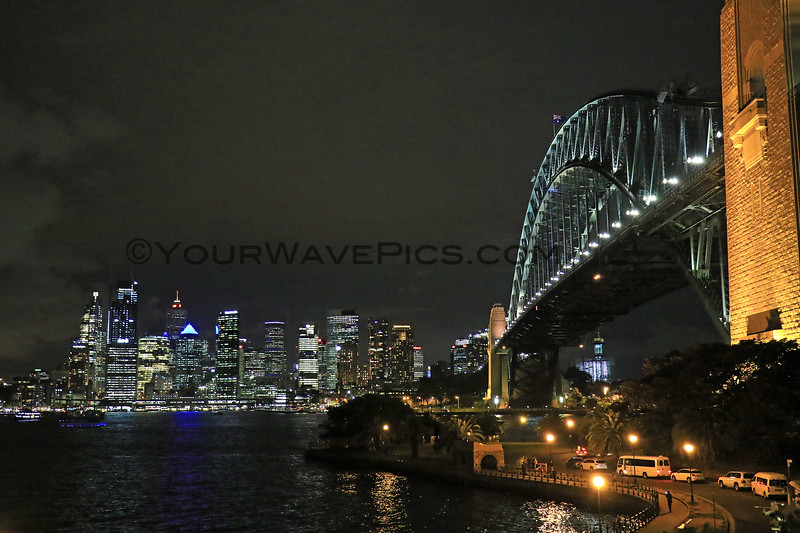 2019-04-01_1506_Sydney Night Sky.JPG<br /> <br /> For our last night, we got fish & chips and ate in the car overlooking the Sydney skyline and Harbour Bridge.