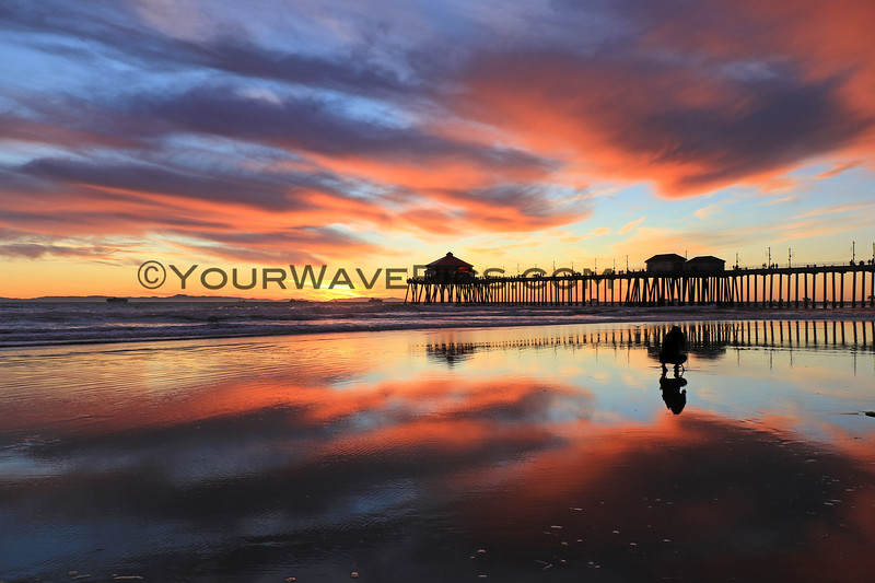 2020-12-30_HB Pier Sunset_18.JPG <br /> Low tide reflections at their finest!