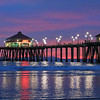2020-12-13_HB Pier Sunset_14.JPG<br /> <br /> Love this time of year when the pier has it's extra sparkly snowflake lights!