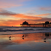 2021-01-12_HB Pier Sunset_16.JPG <br /> King Tides brought a negative low tide in the afternoon for spectacular reflections!
