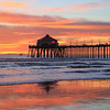 2021-01-12_HB Pier Sunset_29.JPG <br /> King Tides brought a negative low tide in the afternoon for spectacular reflections!