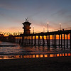 11/30/10 Huntington Beach Pier (my birthday sunset!)