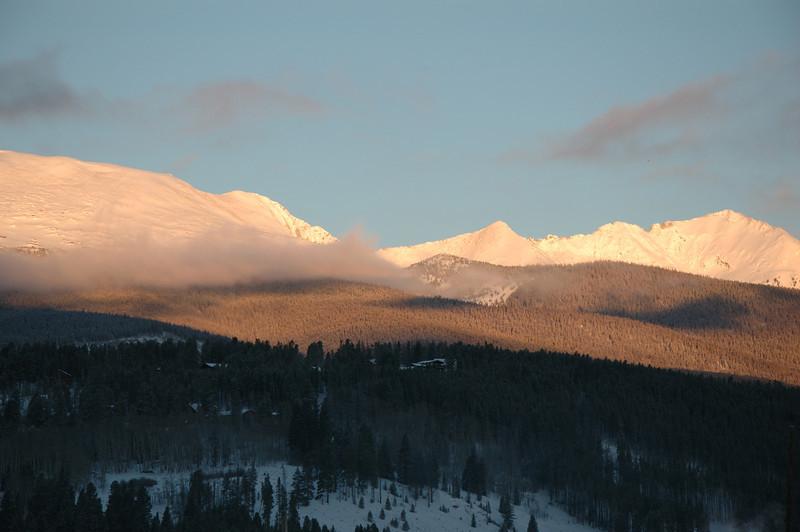 sunrise winter 2013