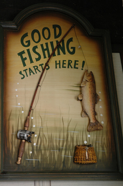 we'll see if good fishing makes it out of Bob's barn and over to Porpoise Bay this week