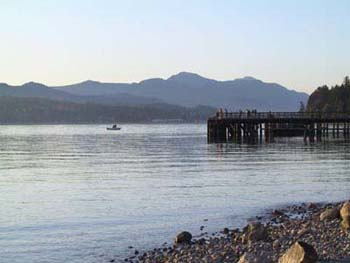 View of the Pier from beach