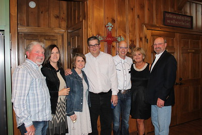Daniel and Nicole Tillman, Brenda and Doug Keiser, Jarrod Reeves, Pamela and Jerry House 1