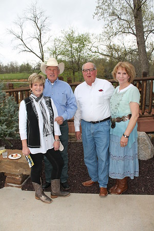 Sam and Sharron Wooldridge, Rex and Carolyn Grimsley