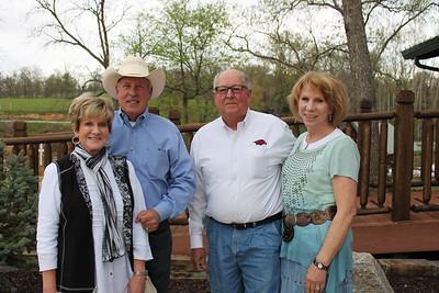 Sam and Sharron Wooldridge, Rex and Carolyn Grimsley 1