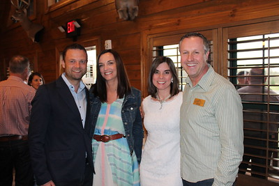 Harvey and Andrea Millar, Kim and Joe Grady