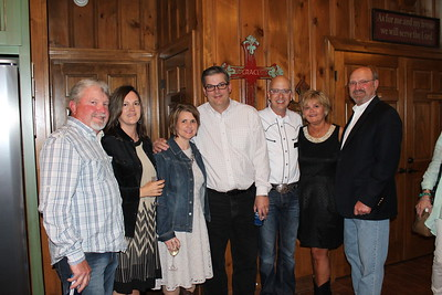 Daniel and Nicole Tillman, Brenda and Doug Keiser, Jarrod Reeves, Pamela and Jerry House