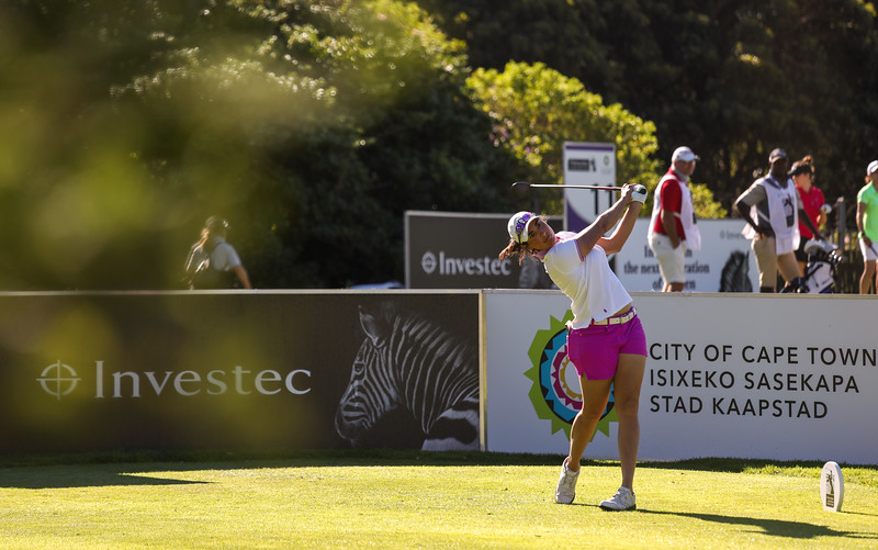 Lucrezia Colombotto Rosso during round two of the 2021 Investec South African Women's Open at Westlake Golf Club in Cape Town, South Africa.   Image by: Petri Oeschger