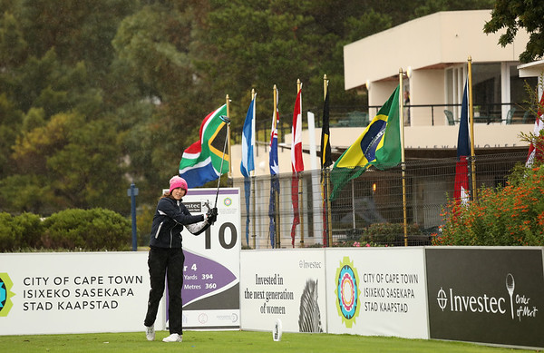 Pia Babnik during round three of the 2021 Investec South African Women's Open at Westlake Golf Club in Cape Town, South Africa.   Image by: Petri Oeschger