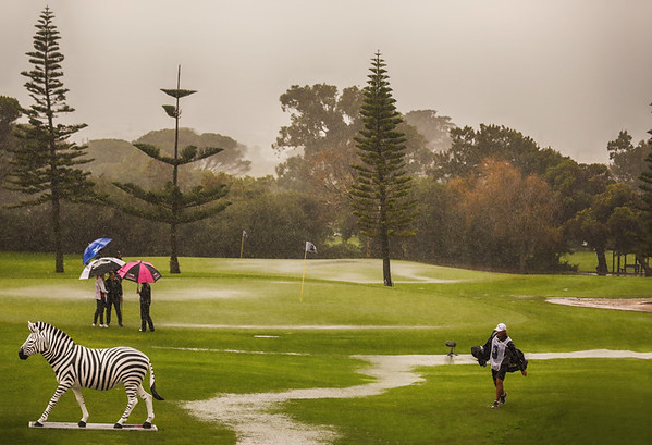 General view during round three of the 2021 Investec South African Women's Open at Westlake Golf Club in Cape Town, South Africa.   Image by: Petri Oeschger