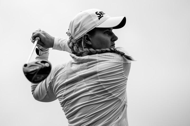 Casandra Hall Round 3 of the Investec SA Women's Open at Westlake Golf Club. Credit Shannon Naidoo, Social Media Credit: @golfshan17