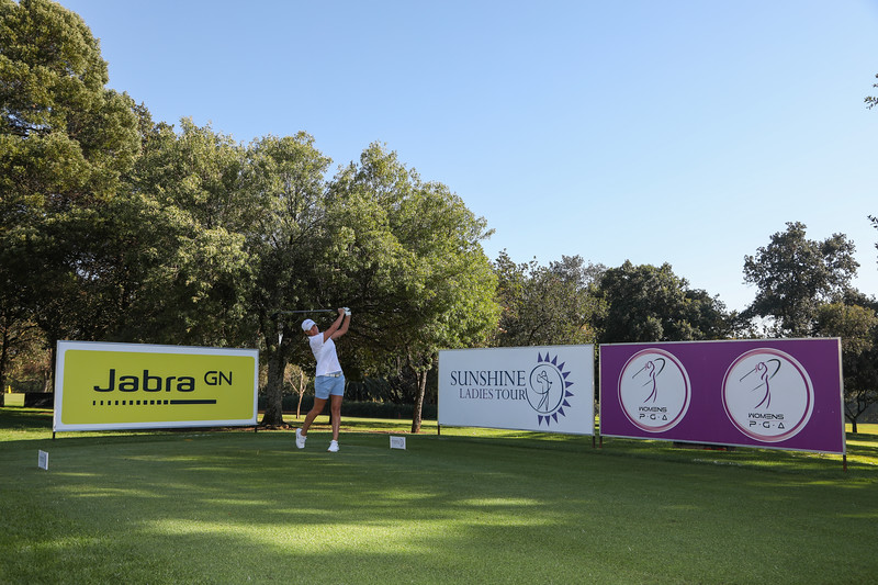 Lee-Anne Pace during round two of the Jabra Ladies Classic at Glendower Golf Club in Johannesburg, South Africa.   Image by: Petri Oeschger