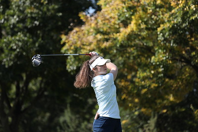 Charlotte De Corte during round one of the Jabra Ladies Classic at Glendower Golf Club in Johannesburg, South Africa.   Image by: Petri Oeschger