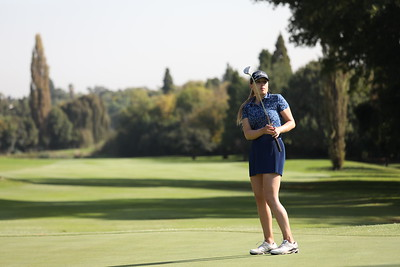 Racel Roshsel during round one of the Jabra Ladies Classic at Glendower Golf Club in Johannesburg, South Africa.   Image by: Petri Oeschger