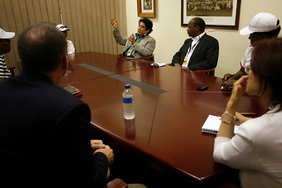 DR. HANDA MEETS WITH NELSON MANDELA CHILDREN'S FUND!
