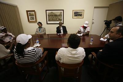 DR. HANDA MEETS WITH NELSON MANDELA CHILDREN'S FUND!