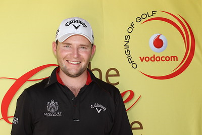 SOUTH AFRICA - MAY 08, Brandon Grace during the practice round of the Vodacom Origins of Golf at Simola Golf Club in Knysna. Photo by Luke Walker / Gallo Images