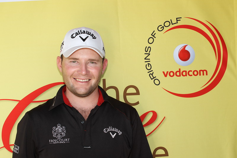SOUTH AFRICA - MAY 08, Brandon Grace during the practice round of the Vodacom Origins of Golf at Simola Golf Club in Knysna.<br /> Photo by Luke Walker / Gallo Images