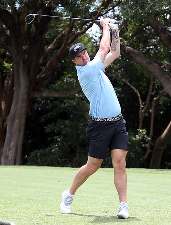 LEOPARD CREEK, SOUTH AFRICA - DECEMBER 11: Kevin Pietersen during the Pro-Am of the Alfred Dunhill Championship held at Leopard Creek Golf Estate on December 1, 2018 in Leopard Creek, South Africa. EDITOR'S NOTE: For free editorial use. Not available for sale. No commercial usage. (Photo by Carl Fourie/Sunshine Tour)
