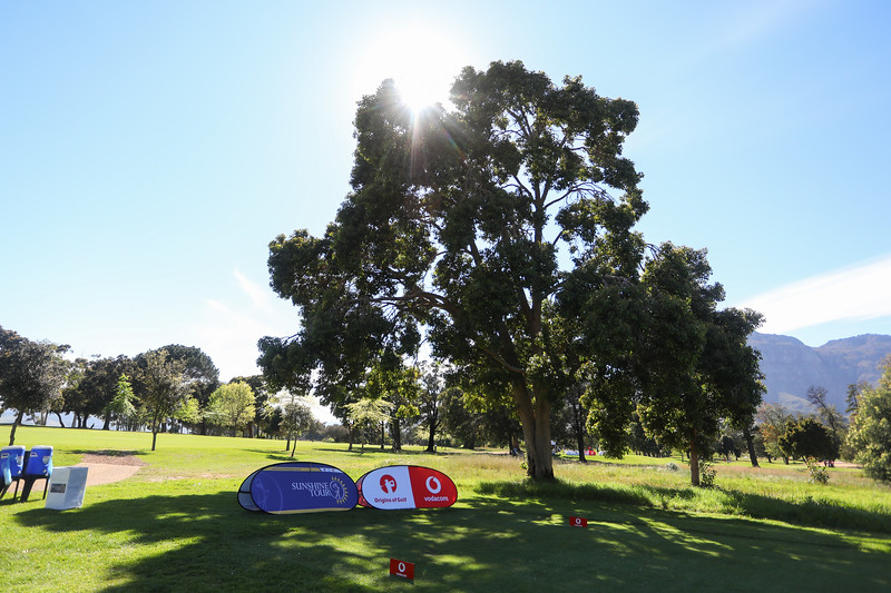 STELLENBOSCH, SOUTH AFRICA - OCTOBER 2: Hole 3 during the held at Stellenbosch Golf Club on October 2, 2018 in Stellenbosch, South Africa. EDITOR'S NOTE: For free editorial use. Not available for sale. No commercial usage. (Photo by Carl Fourie/Sunshine Tour)