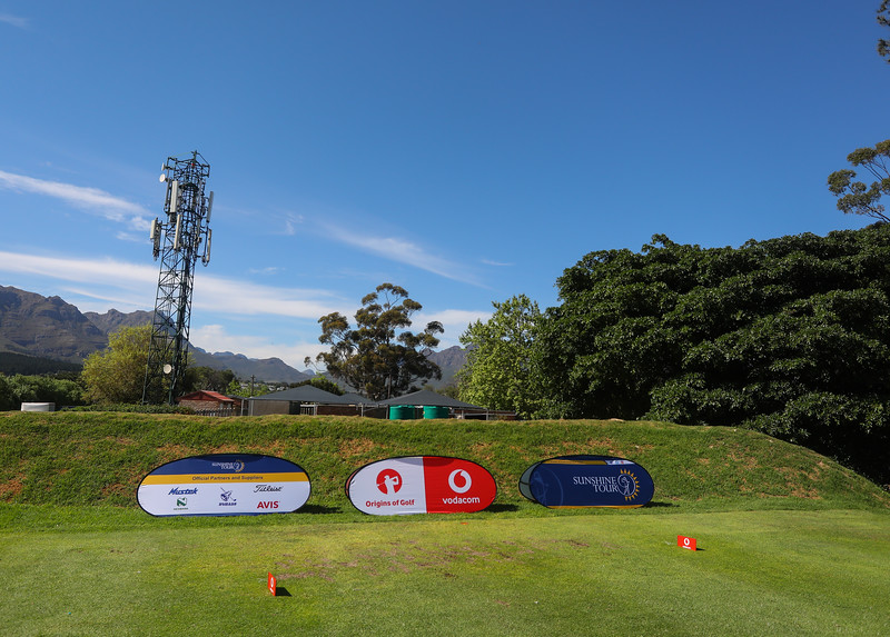 STELLENBOSCH, SOUTH AFRICA - OCTOBER 2: Hole 7 during the held at Stellenbosch Golf Club on October 2, 2018 in Stellenbosch, South Africa. EDITOR'S NOTE: For free editorial use. Not available for sale. No commercial usage. (Photo by Carl Fourie/Sunshine Tour)